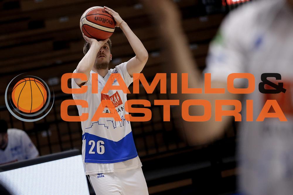 Traini Andrea<br /> Vanoli Cremona - Germani Basket Brescia<br /> Legabasket Serie A 2017/18<br /> Cremona, 27/04/2018<br /> Foto MarcoBrondi / Ciamillo-Castoria