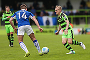 Forest Green Rovers Marcus Kelly(10) runs forward during the Vanarama National League match between Forest Green Rovers and Chester FC at the New Lawn, Forest Green, United Kingdom on 14 April 2017. Photo by Shane Healey.