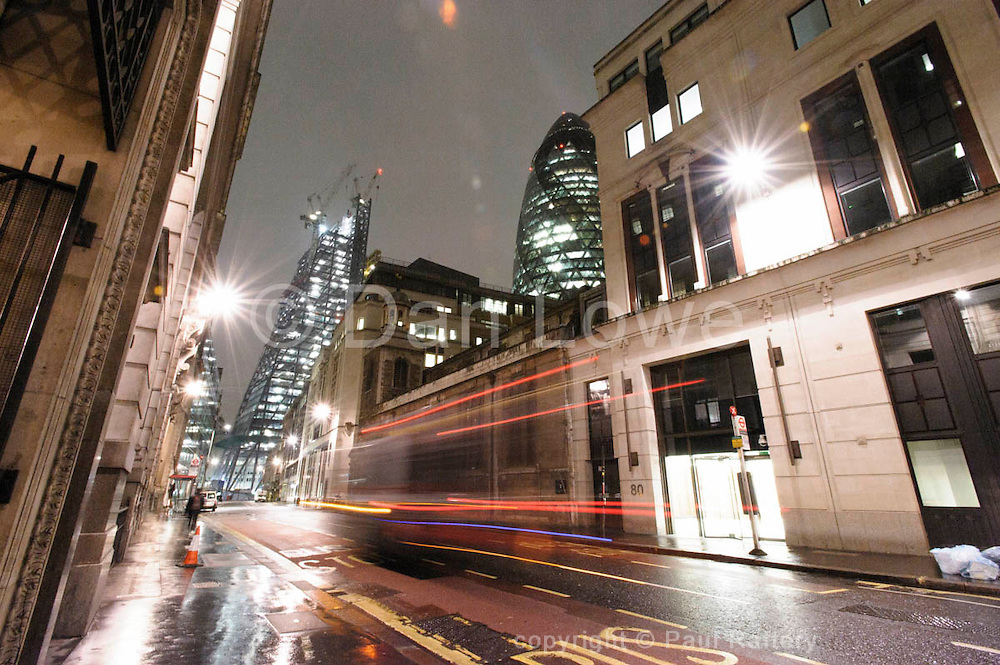 The Leadenhall Building, London aka The Cheesegrater. Architects Rogers, Stirk, Harbour and Partners.