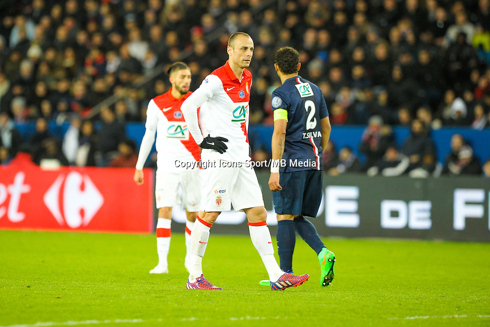 Dimitar Berbatov - 04.03.2015 - PSG / Monaco - 1/4Finale Coupe de France<br />