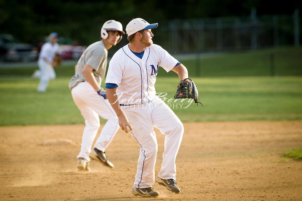 May 20, 2014.  <br /> MCHS Varsity Baseball vs Warren County.  Madison defeats Warren 5-1.