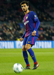 December 5, 2017 - Barcelona, Catalonia, Spain - Andre Gomes during the UEFA Champions League match between FC Barcelona v Sporting CP, in Barcelona, on December 05, 2017. (Credit Image: © Joan Valls/NurPhoto via ZUMA Press)