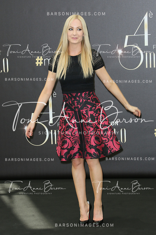"MONTE-CARLO, MONACO - JUNE 11:  Joanne Froggat  attends ""Downton Abbey"" photocall at the Grimaldi Forum on June 11, 2014 in Monte-Carlo, Monaco.  (Photo by Tony Barson/FilmMagic)"