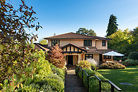 A renovated 1927 home in Rockland in Victoria, BC, takes advantage of the mild climate with a Tuscan twist in style.