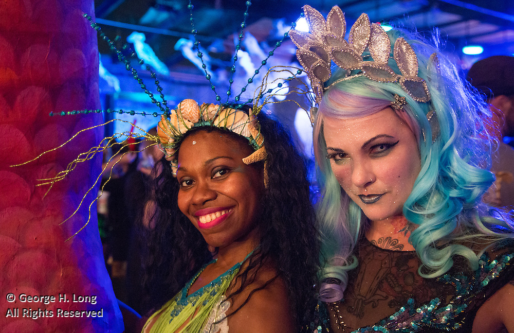 """""""Splish: A Mermaid Masque"""" performance at The Port on October 23, 2015"""
