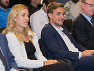 Tennis Profi ANGELIQUE KERBER (GER) und Manager Aljoscha Thron bei einem Sponsoren Termin  in Muenchen