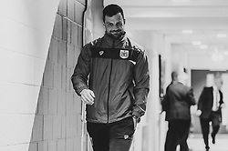 Stefan Marinovic of Bristol City arrives at Ashton Gate Stadium prior to kick off - Mandatory by-line: Ryan Hiscott/JMP - 09/04/2019 - FOOTBALL - Ashton Gate Stadium - Bristol, England - Bristol City v West Bromwich Albion - Sky Bet Championship