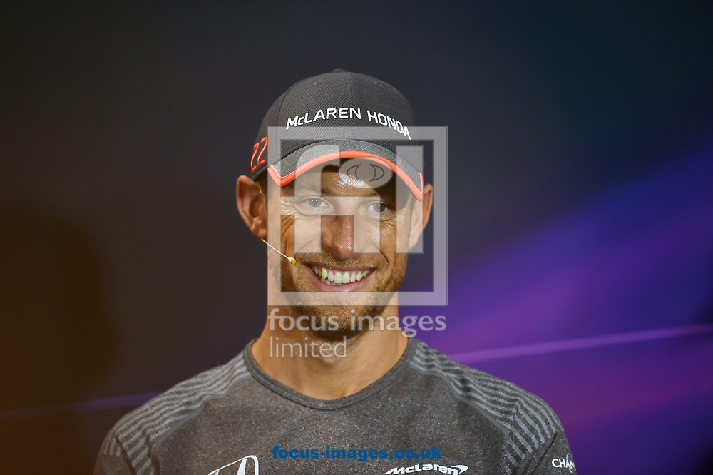 Jenson Button of McLaren Honda during the practice session for the 2017 Monaco Formula One Grand Prix at the Circuit de Monaco, Monte Carlo<br /> Picture by EXPA Pictures/Focus Images Ltd 07814482222<br /> 25/05/2017<br /> *** UK &amp; IRELAND ONLY ***<br /> <br /> EXPA-EIB-170525-0009.jpg