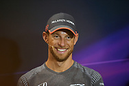 Jenson Button of McLaren Honda during the practice session for the 2017 Monaco Formula One Grand Prix at the Circuit de Monaco, Monte Carlo<br /> Picture by EXPA Pictures/Focus Images Ltd 07814482222<br /> 25/05/2017<br /> *** UK & IRELAND ONLY ***<br /> <br /> EXPA-EIB-170525-0009.jpg