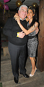 01.FEBUARY.2010 - LONDON<br /> <br /> AMY WINEHOUSE GIVES HER DAD MITCH A HUG AT DIONNE BROMFIELD'S 14TH BIRTHDAY PARTY INSIDE SHOREDITCH HOUSE.<br /> <br /> BYLINE: EDBIMAGEARCHIVE.COM<br /> <br /> *THIS IMAGE IS STRICTLY FOR UK NEWSPAPERS &amp; MAGAZINES ONLY*<br /> *FOR WORLDWIDE SALES &amp; WEB USE OR MORE INFO PLEASE CONTACT EDBIMAGEARCHIVE - 0208 954 5968*