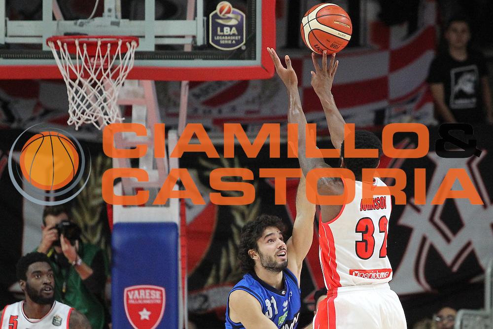 Openjobmetis Varese - Germani Basket Brescia<br /> BASKET SerieA 2016-2017<br /> Varese 19/11/2016 <br /> FOTO CIAMILLO