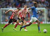 Football - 2019 EFL Checkatrade Trophy Final - Sunderland vs. Portsmouth<br /> <br /> Jamal Lowe of Portsmouth, at Wembley.<br /> <br /> COLORSPORT/ANDREW COWIE
