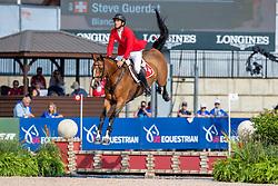 GUERDAT Steve (SUI), Bianca<br /> Tryon - FEI World Equestrian Games™ 2018<br /> FEI World Individual Jumping Championship<br /> Third cometition - Round A<br /> 3. Qualifikation Einzelentscheidung 1. Runde<br /> 23. September 2018<br /> © www.sportfotos-lafrentz.de/Stefan Lafrentz