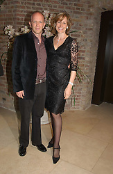 Writers SIMON & SANTA SEBAG-MONTEFIORE she was Santa Palmer-Tomkinson at a party to celebrate the publication of 'Last Voyage of The Valentina' by Santa Montefiore at Asprey, 169 New Bond Street, London W1 on 12th April 2005.<br /><br />NON EXCLUSIVE - WORLD RIGHTS