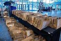 UTRECHT - Goodiebags. Nationaal Hockey Congres van de KNHB, COPYRIGHT KOEN SUYK