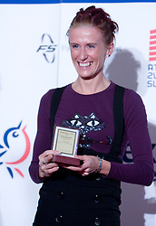 Sonja Roman at Best Slovenian athlete of the year ceremony, on November 15, 2008 in Hotel Lev, Ljubljana, Slovenia. (Photo by Vid Ponikvar / Sportida)