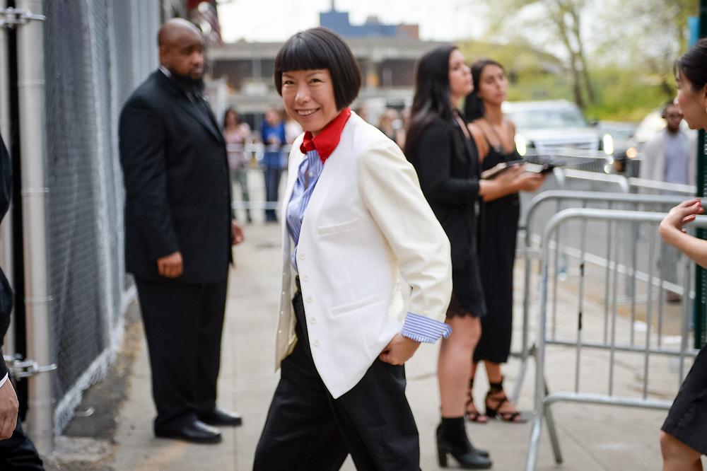 Angelica Cheung at Prada Resort 2019 - horizontal