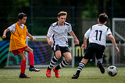 Ruben #13 of VV Maarssen  in action. VV Maarssen O14-1 played a friendly game against CDW O15-2. Maarssen won 9-2 on July 11, 2020 at Daalseweide sports park Maarssen.