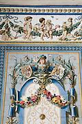 Dresden Neustadt, Pfunds Molkerei, historische Molkerei, Kachelbilder, Dresden, Sachsen, Deutschland.VERWENDUNG NUR REDAKTIONELL  |.Dresden, Germany,  Dresden Neustadt, Pfunds Molkerei, historic dairy shop