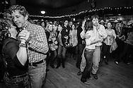 People dancing to John Hiatt at Fitzgerald's.