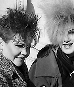 Chigwell Punk Girls, Chigwell, London, UK, 1980s.