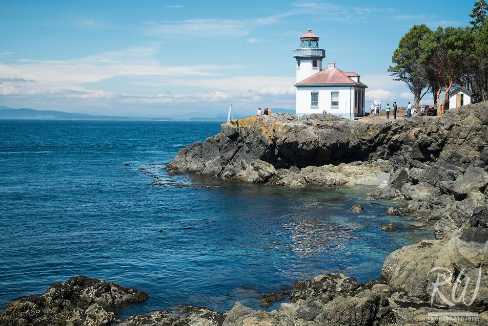 Lime Kiln Lighthouse, San Juan Island, Washington