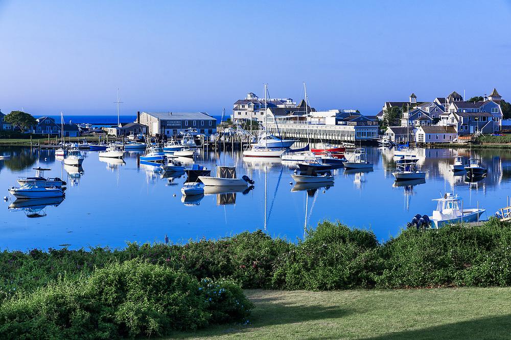 Wychmere Harbor, Harwich Port, Cape Cod, Massachusetts, USA.