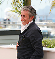 Actor Richard Anconina at the photo call for the Camera d'Or Jury at the 67th Cannes Film Festival, Saturday 17th May 2014, Cannes, France.