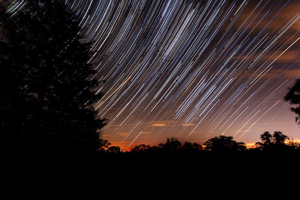 Star Trails in Greenwich, CT
