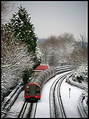 JAN 21 2013 Snow Hits The UK