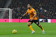 Jonny Otto (19) of Wolverhampton Wanderers during the Premier League match between Bournemouth and Wolverhampton Wanderers at the Vitality Stadium, Bournemouth, England on 23 November 2019.