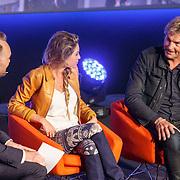 NLD/Hilversum20150825 - Najaarspresentatie NPO 2015, Arjen Lubach in gesprek met Lauren Verster en Matthijs van Nieuwkerk