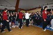 DESCRIZIONE : Roma Festa Eurobasket Virtus Roma <br /> GIOCATORE : team<br /> SQUADRA : Acea Virtus Roma Eurobasket<br /> CATEGORIA : curiosita fair play festa<br /> EVENTO : Campionato Lega A 2012-2013<br /> GARA : <br /> DATA : 05/11/2012<br /> SPORT : Pallacanestro<br /> AUTORE : Agenzia Ciamillo-Castoria/M.Simoni<br /> Galleria : Lega Basket A 2012-2013<br /> Fotonotizia : Roma Festa Eurobasket Virtus Roma <br /> Predefinita :