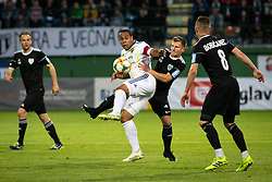 Marcos Magno Morales Tavares of Maribor, Klemen Šturm of Mura and Luka Bobičanec of Mura during football match between NŠ Mura and NK Maribor in semifinal Round of Pokal Telekom Slovenije 2018/19, on April 24, 2019 in Fazanerija, Murska Sobota, Slovenia. Photo by Blaž Weindorfer / Sportida