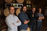 Lawrence Stewart,  Jesse Schmidt, Paul Golitzin, & Alex Stewart, Quilceda Creek Vitners, Washington Quilceda Creek Vitners, Washington