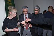 LINDSAY DUNCAN;  HENRY GOODMAN; PATRICK BARLOW;  Duet for One first night party. Axiis, One Aldwych, London. 12 May 2009