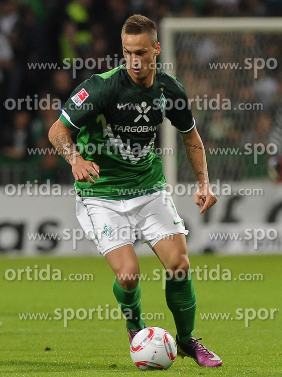 29.04.2011, Weserstadion, Bremen, GER, 1.FBL, Werder Bremen vs VfL Wolfsburg, im Bild Marko Arnautovic (Bremen #7)   EXPA Pictures © 2011, PhotoCredit: EXPA/ nph/  Frisch       ****** out of GER / SWE / CRO  / BEL ******