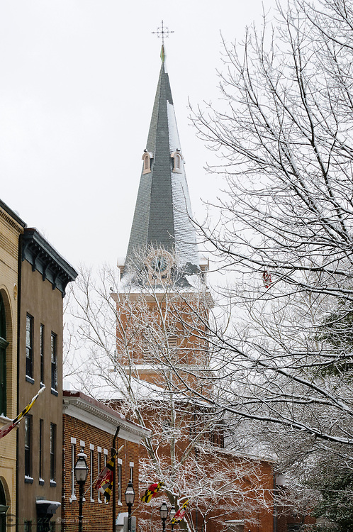 St. Anne's Episcopal Chruch in Annapolis Maryland. USA