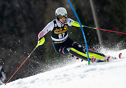 KOLEGA Samuel of Croatia during the Audi FIS Alpine Ski World Cup Men's Slalom 58th Vitranc Cup 2019 on March 10, 2019 in Podkoren, Kranjska Gora, Slovenia. Photo by Matic Ritonja / Sportida