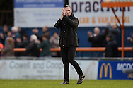Oxford United Manager Michael Appleton during the FA Cup match between Braintree Town and Oxford United at the Avanti Stadium, Braintree<br /> Picture by Richard Blaxall/Focus Images Ltd +44 7853 364624<br /> 08/11/2015