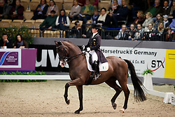 Reynolds Judy, (IRL), Vancouver K<br /> FEI World Cup Dressage Grand Prix <br /> FEI World Cup Neumünster - VR Classics 2017<br /> © Hippo Foto - Stefan Lafrentz