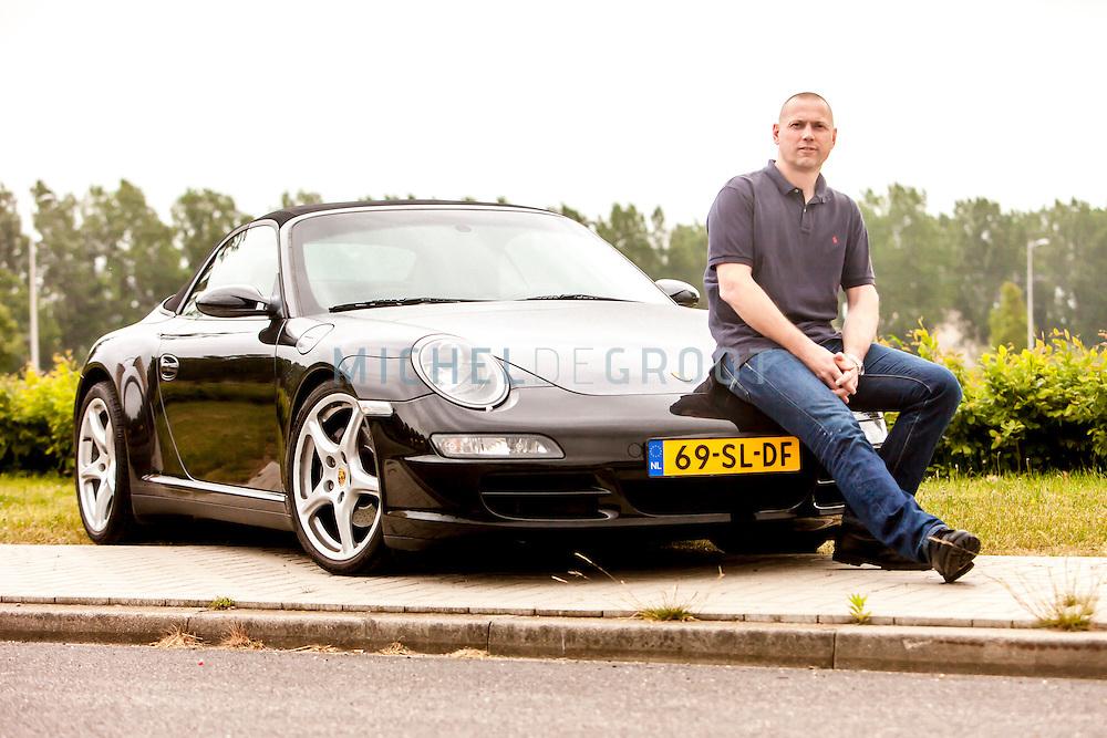Larry Verschuur van Pro4 met zijn Porsche