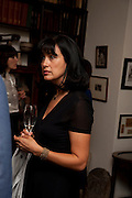 POLLY SAMSON, Freud Museum dinner, Maresfield Gardens. 16 June 2011. <br /> <br />  , -DO NOT ARCHIVE-© Copyright Photograph by Dafydd Jones. 248 Clapham Rd. London SW9 0PZ. Tel 0207 820 0771. www.dafjones.com.
