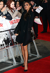Victoria Beckham  arrives<br /> at the The Class of 92 premiere in London, Sunday, 1st December 2013. <br /> Picture by Stephen Lock / i-Images