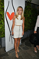 TIFFANY WATSON at a reception hosted by Tiffany Watson in aid of The Eve Appeal held at The Phene, 9 Phene Street, London on 8th September 2015.