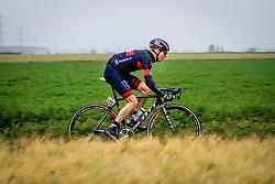 Marcel Wyss (SUI) of IAM Cycling, Tour de France, Stage 5: Ypres > Arenberg Porte du Hainaut, UCI WorldTour, 2.UWT, Wallers, France, 9th July 2014, Photo by Thomas van Bracht / PelotonPhotos.com