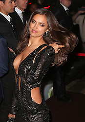 Model Irina Shayk attends Roberto Cavalli's boat party at the Cannes Film Festival. France. 12/05/2013<br />
