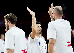 Andrea Cinciarini of Italy during basketball match between National Teams of Finland and Italy at Day 10 in Round of 16 of the FIBA EuroBasket 2017 at Sinan Erdem Dome in Istanbul, Turkey on September 9, 2017. Photo by Vid Ponikvar / Sportida