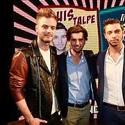 NLD/Amsterdam/20130521 - Sexiest Man 2013, Jim Bakkum, Ruud Feltkamp en Louis Talpa