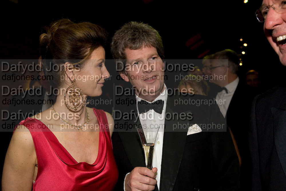 MRS. ALEXANDER WILMOT-SITWELL; BEN SANGSTER, Festival of Trees Gala Dinner. In aid of Save The Children.<br />